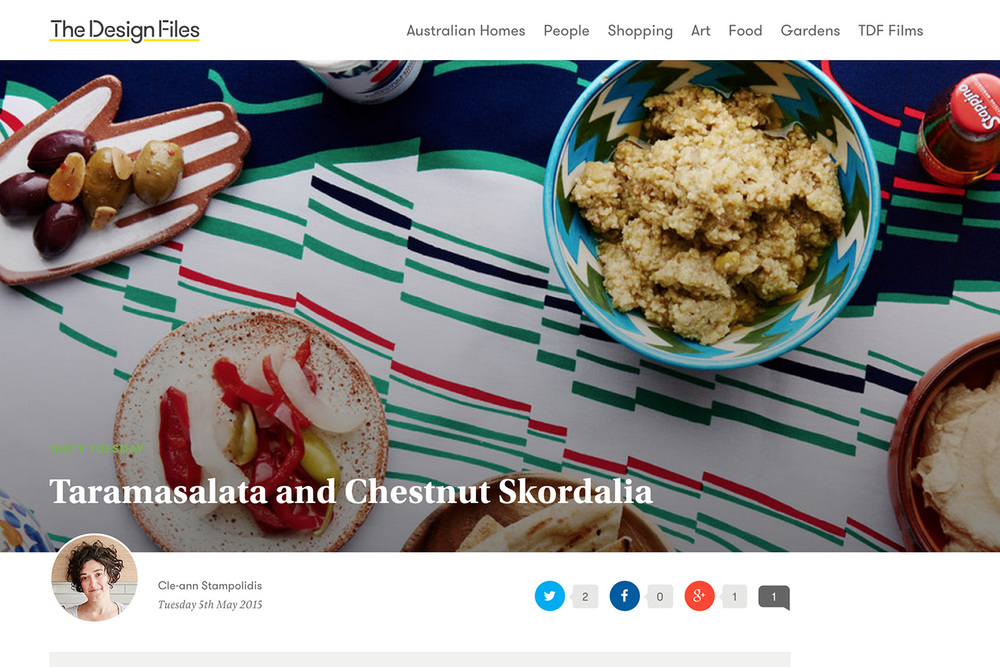 Taramasalata and Chestnut Skordalia — The Design Files.jpg