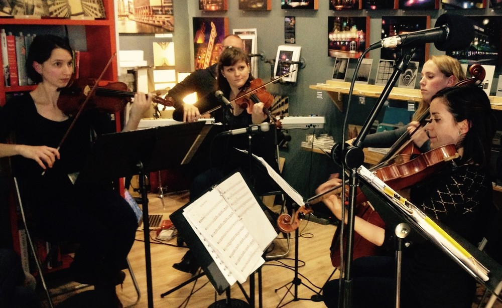 Second Sunday at Six concert: collaborative string quartet  The Ayuda Quartet , plus rapping violist  Lil Sharp   .     Read more