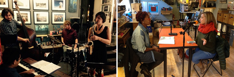 Malena Quartet (In Store), Danielle Echols and Melody Gilbert (Depth of Field)