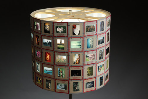 Slide lampshade custom transistor slide lampshade custom aloadofball Choice Image