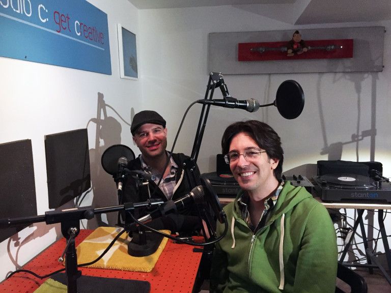 Edgewater Candles' Mark Towns  and  Stephen Pearlman