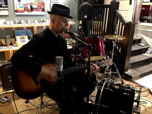 """Stephen Chopek, featured on """"In Store."""""""