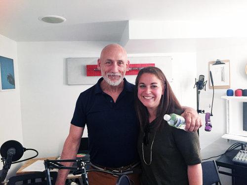 Larry Vodak and Sara Dinges in Transistor's Studio C