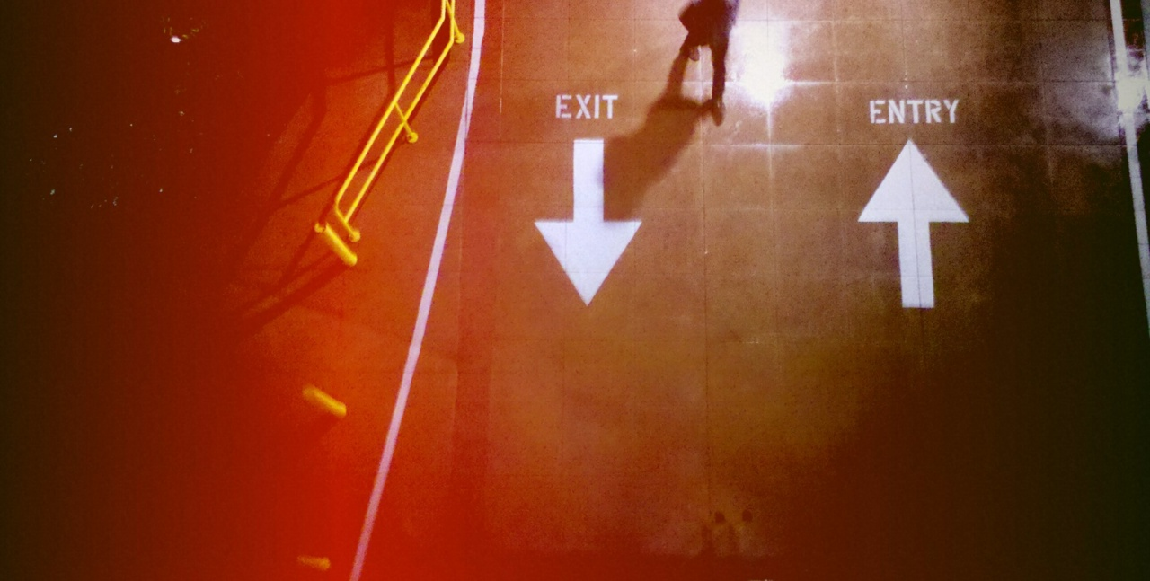 Exit upon arrival