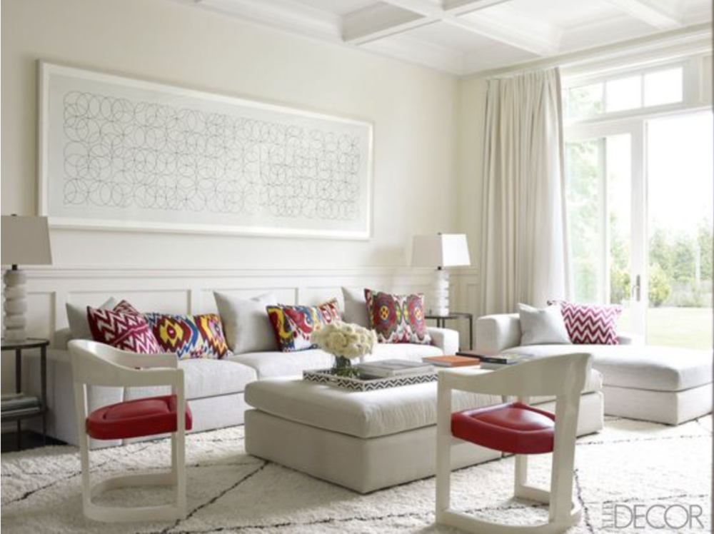 The above 2 interiors are designed by Tamara Mellon