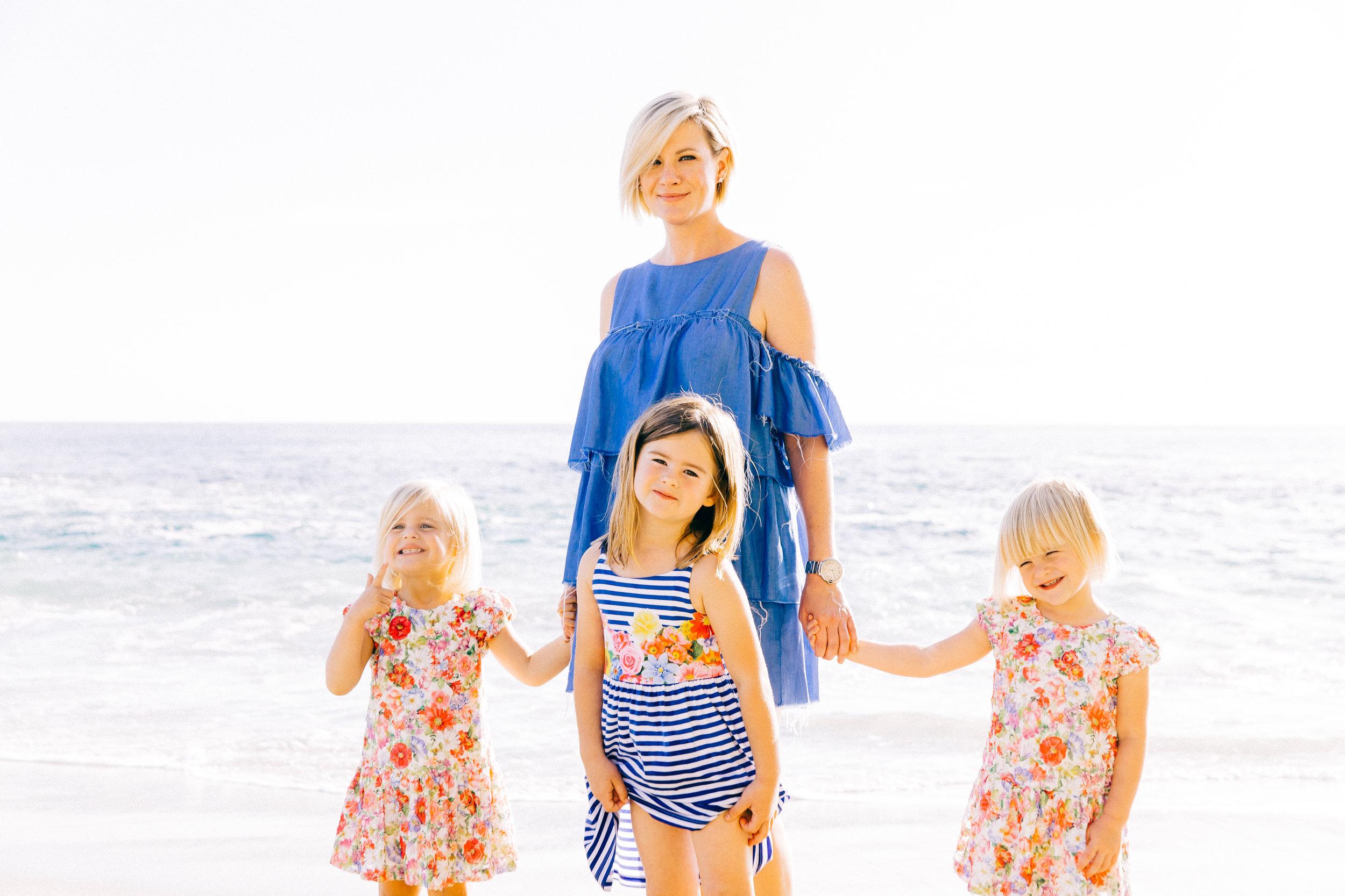Family Photo Shoot Beach Play Family Photoshoot Hailley Howard Photography