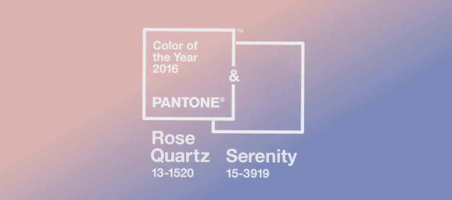 Pantone's Color of the Year 2016: Rose Quartz & Serenity