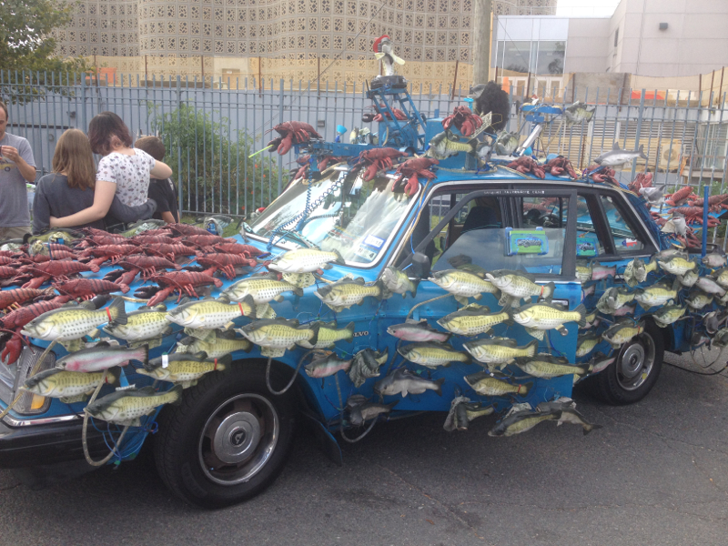 Lobster car!