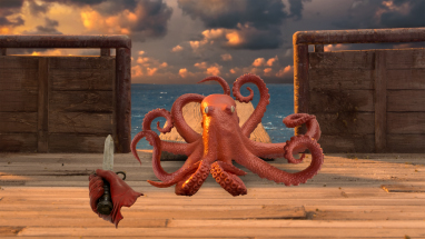 Walk the plank ye scurvy dog ... er ... octopus!