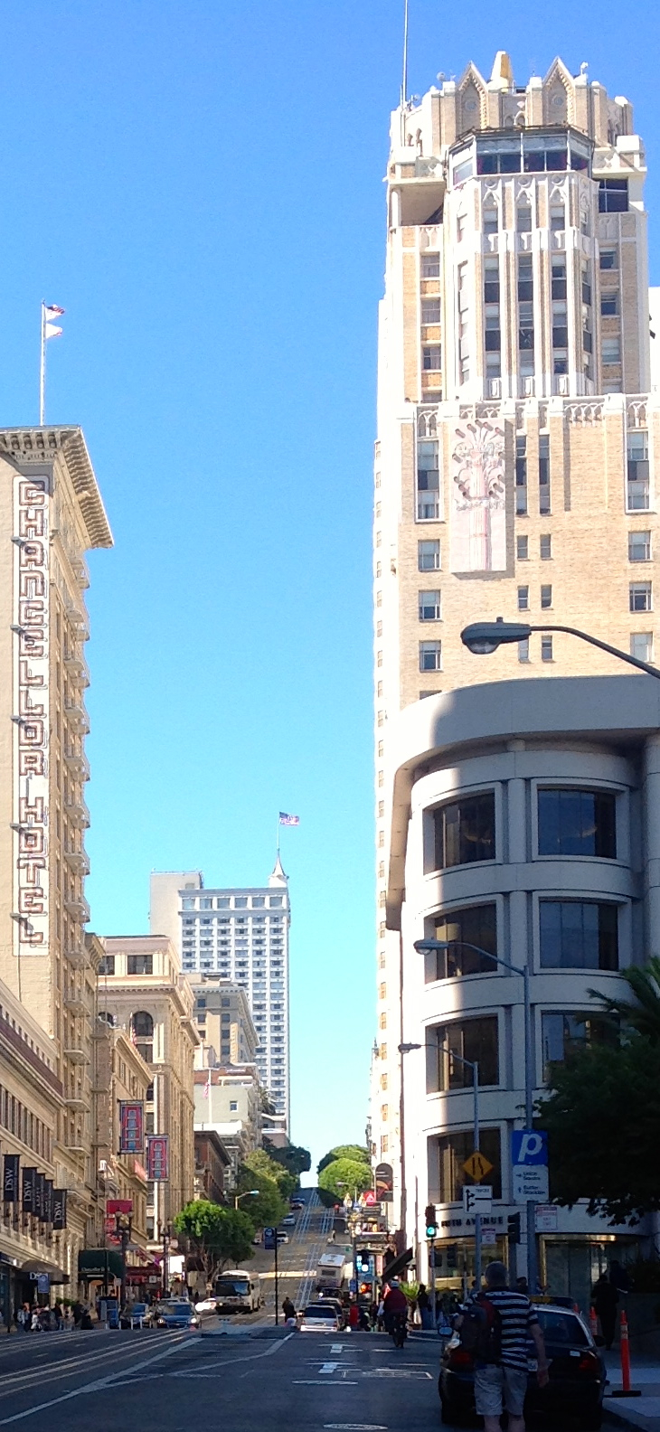 Edge of Union Square, SF