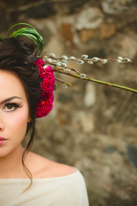 Geisha Bride as featured in Grace Ormonde. Photography by Creatix