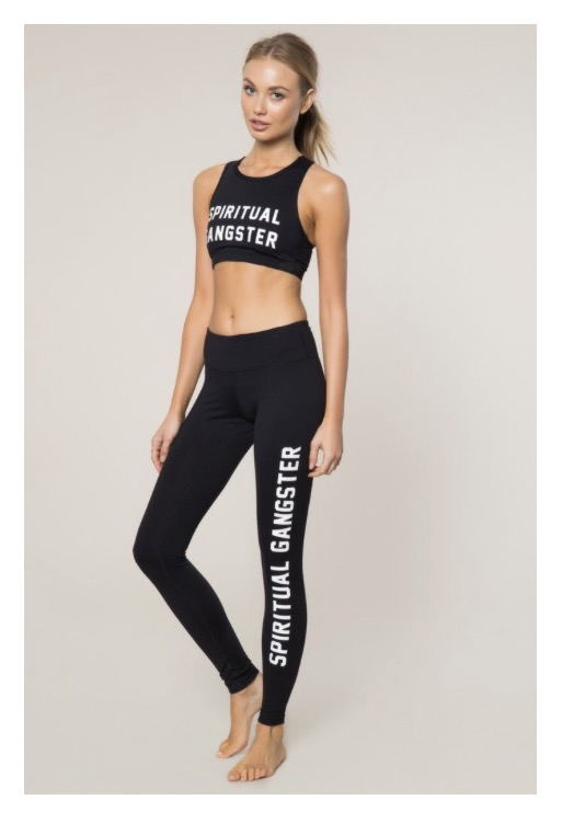 Spiritual Gangster yoga pants