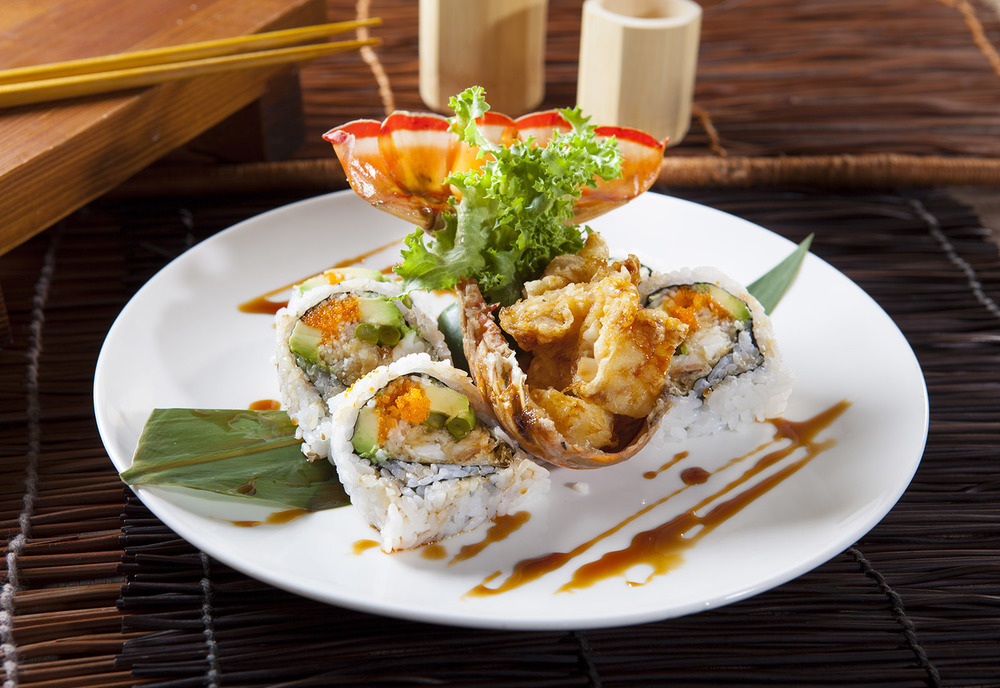 Lobster Tail Tempura Roll