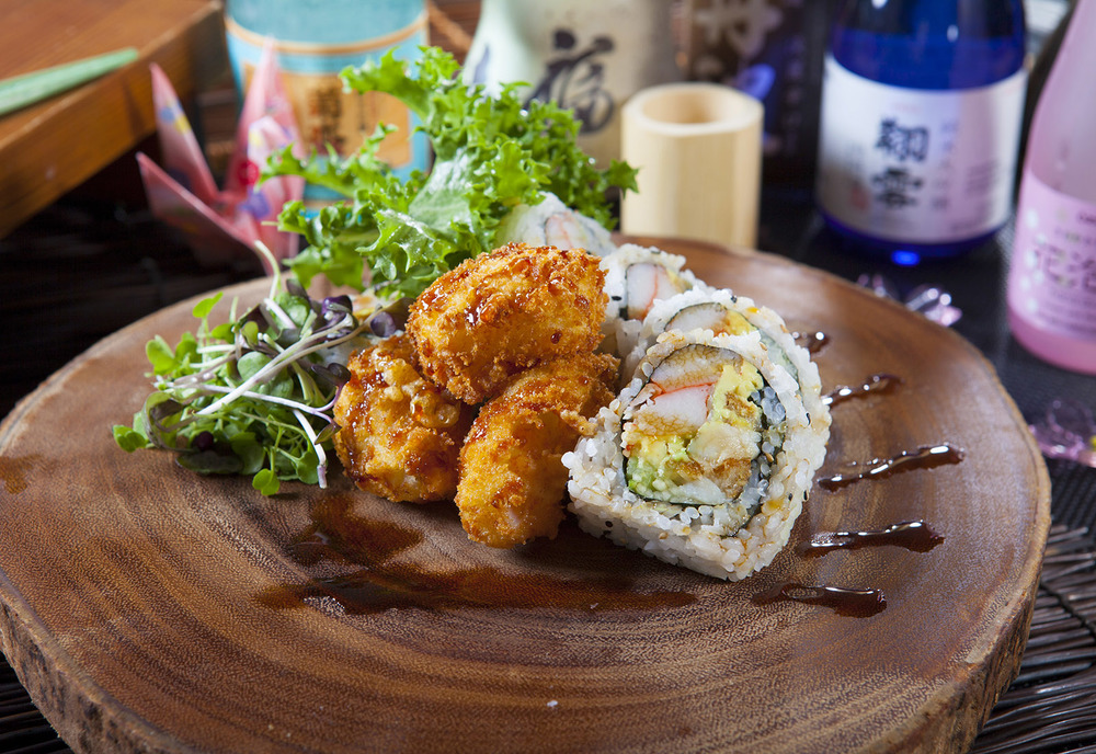 Crunch Scallop Roll