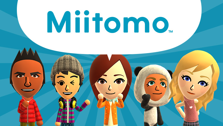 This promotional image is something you could easily create in the app as a Miifoto.