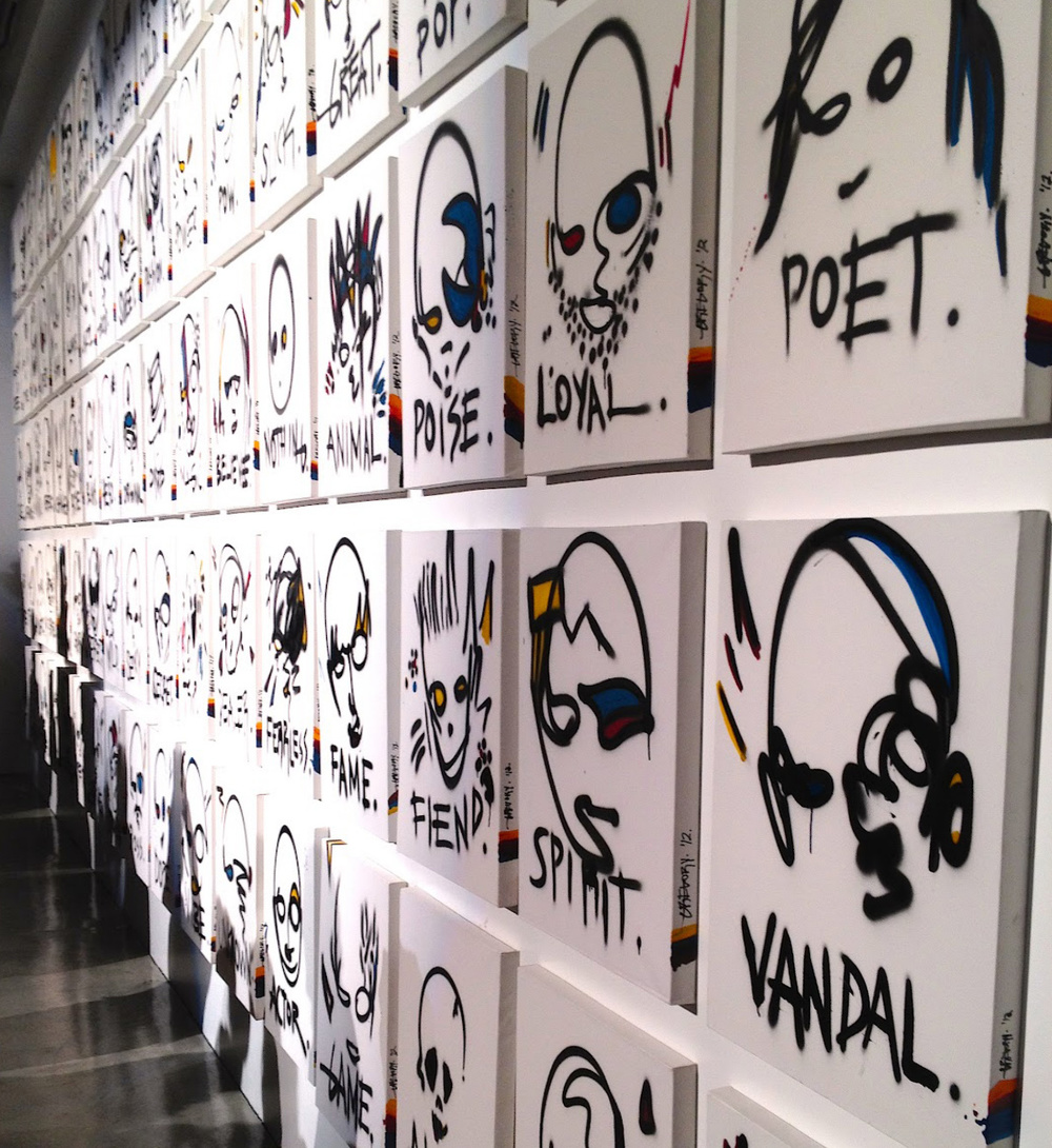 GREGORY SIFF EXHIBITION There + Back  Siren Studios Hollywood, CA March 2012