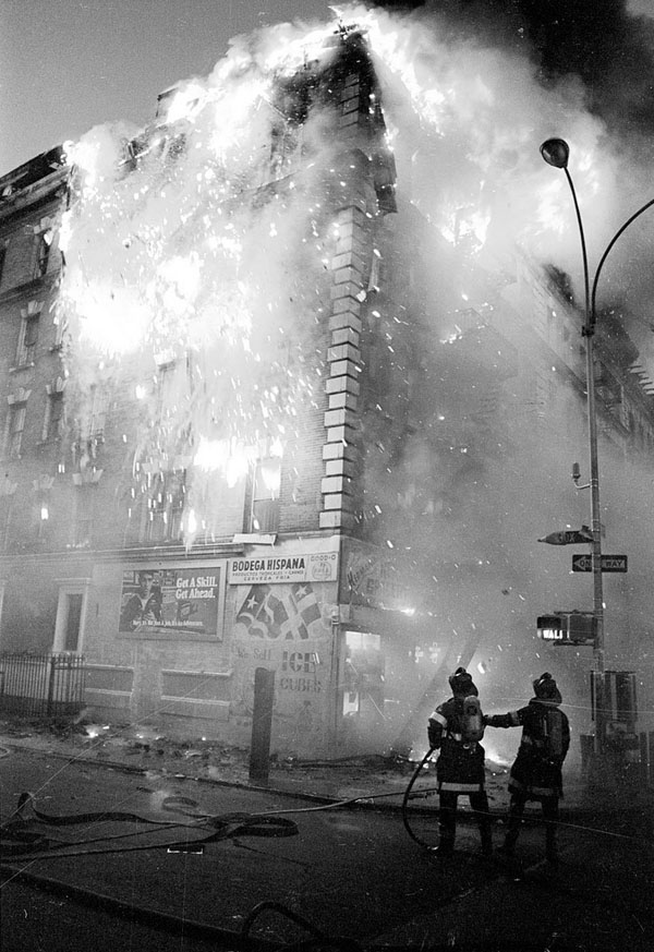 Ricky Flores ,  FDNY Dispatch: Is There a Fire Over   There?  ,   1983