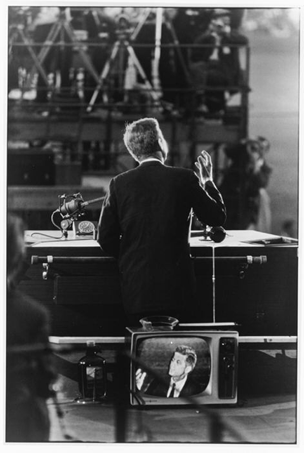 Garry Winogrand John F. Kennedy, Democratic National Convention, Los Angeles, 1960 Gelatin Sliver Print