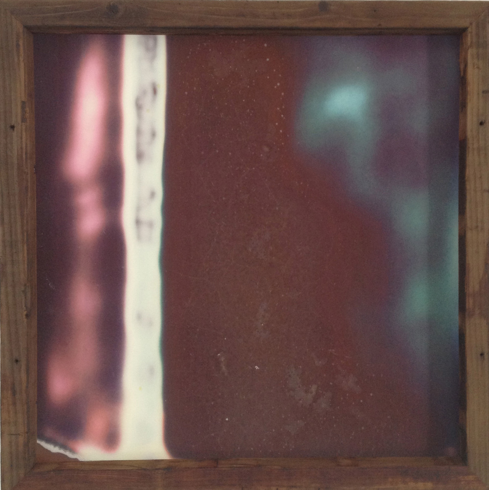 Adarsha Benjamin   Untitled (Unconditional Wave) 03   2013   pigment print with unique 100 year old redwood frame   24 x 24 inches (61 x 61 cm)