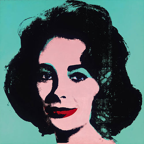 Andy Warhol, Liz (Colored Liz), 1963
