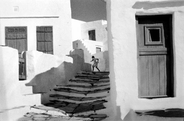 Henri Cartier-Bresson, Siphnos, Greece, 1961, Gelatin Silver Print