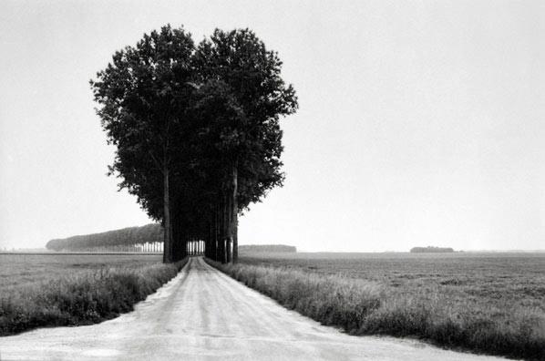 Henri Cartier-Bresson, Brie, France, 1968, Gelatin Silver Print