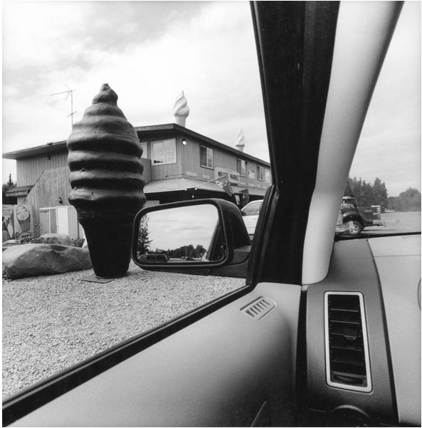 Lee Friedlander, Alaska, 2007, Gelatin silver print, 15 × 15 in.