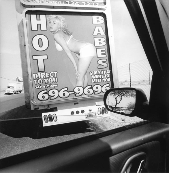 Lee Friedlander, Las Vegas, Nevada, 2007, Gelatin silver print, 15 × 15 in.
