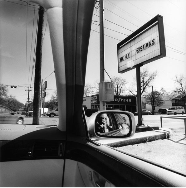 Lee Friedlander, Texas, 2006, Gelatin silver print, 15 × 15 in.