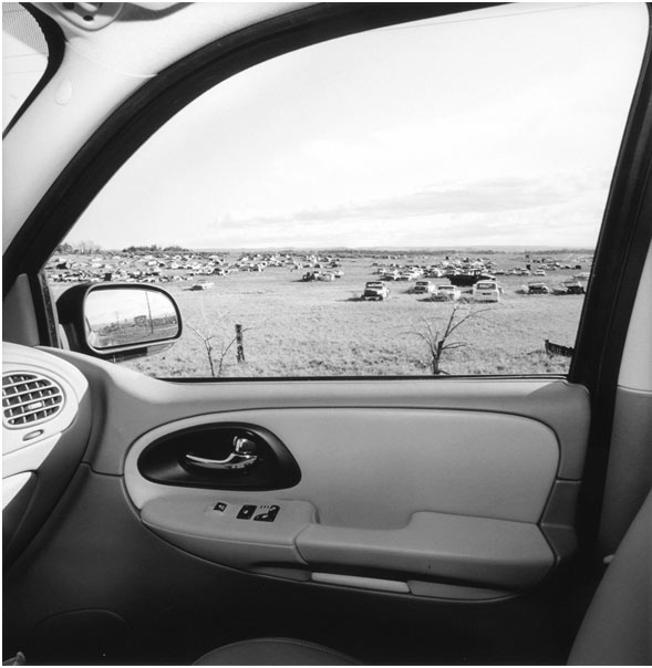 Lee Friedlander, Arizona, 2007, Gelatin silver print, 15 × 15 in.