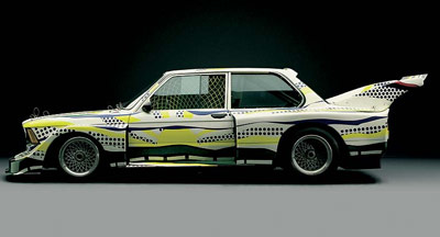 Lichtenstein Art Car, 1977, BMW 320i
