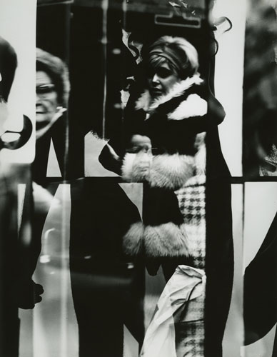 Barbara Crane,   Multiple Human Forms , 1969. Gelatin silver photograph, 1969 print.  At the booth of Stephen Daiter Gallery.