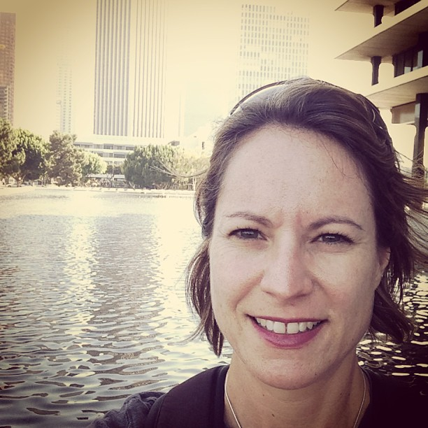 Author selfie at Department of Water and Power, Los Angeles