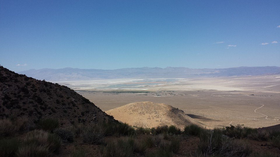 Owens Lake from Sage Flat