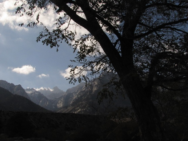 Whitney Portal from Lone Pine Creek