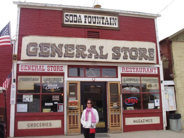 Kristine at Randsburg General Store