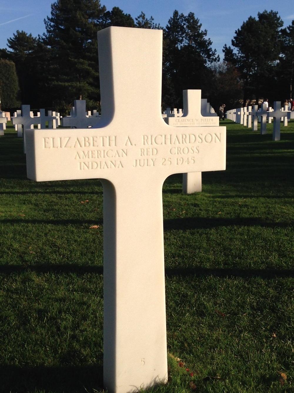 One of the few women killed during the invasion.