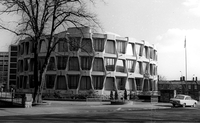 TheUS Embassy Building in Dublin Photo from the archive of Fionbarr Callanan