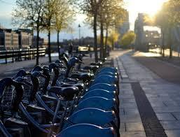 Dublin Bikes Scheme's station is a few minutes walk away.