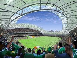 The Aviva Stadium is a 5 minute walk away ... not only for Sport ... for concerts too.