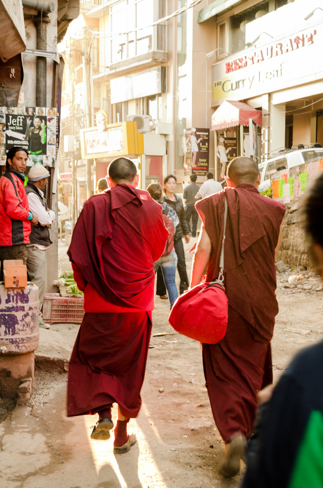 "McLeod Ganj, also known as ""Little Lhasa"", is a small busy town that welcomes Buddhists and hosts the Dalai Lama's home in exile."