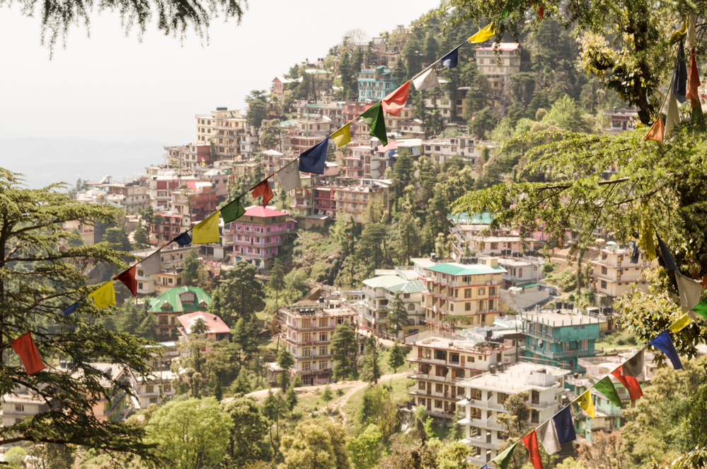 Mcleod Ganj sits quietly 2,082 meters high in the Dhauladhar Range in the Kangra District of Himachal Pradesh, India.