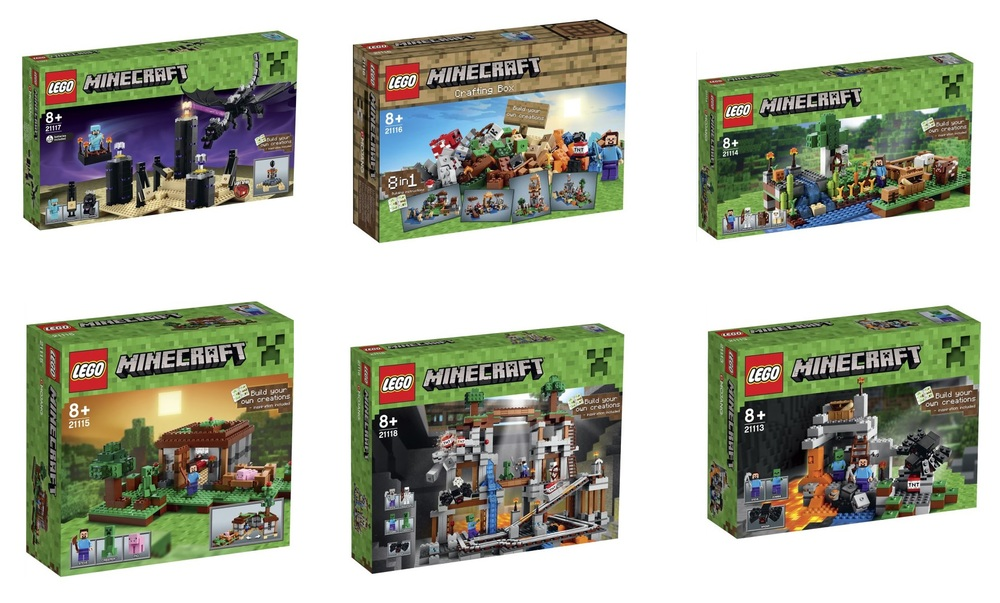 LEGO-Minecraft-Microworld-2015-Sets-21117-The-Ender-Dragon-21116-Creative-Box-21115-The-First-Night-21118-The-Mine-21114-The-Farm-21113-The-Cave[1].jpg
