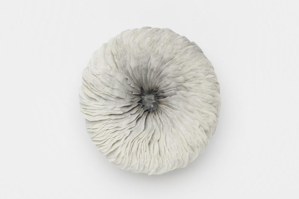Vibration Series II,  2010, artist blend glaze material, 7cm x 21cm x 21cm
