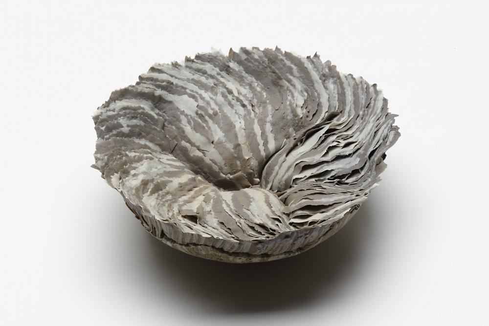 Swell,  2012, artist blend glaze material, 13cm x 35cm x 35cm