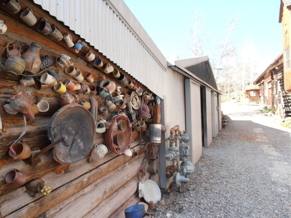 Kiln shed at Anderson Ranch Arts Center