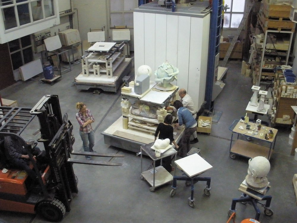 Kiln Hall, European Ceramic Work Centre