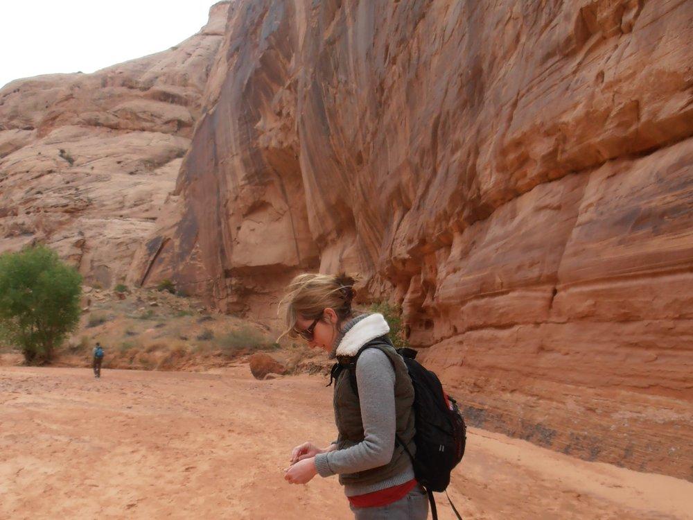 Exploring Canyonlands, Utah, post residency