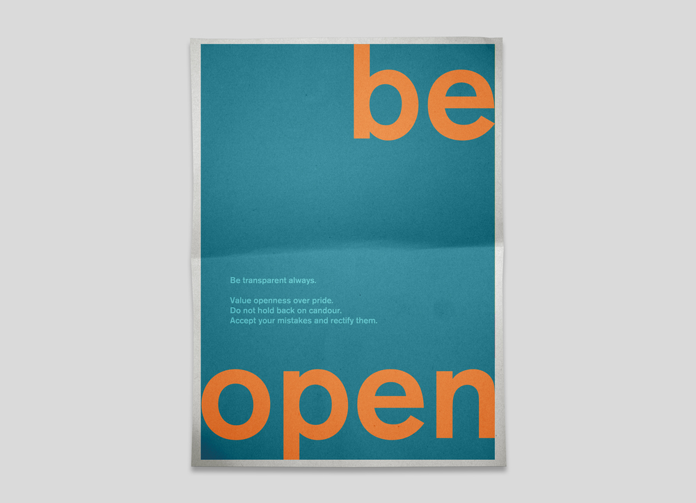 posters for the office. Be Open.jpg Posters For The Office