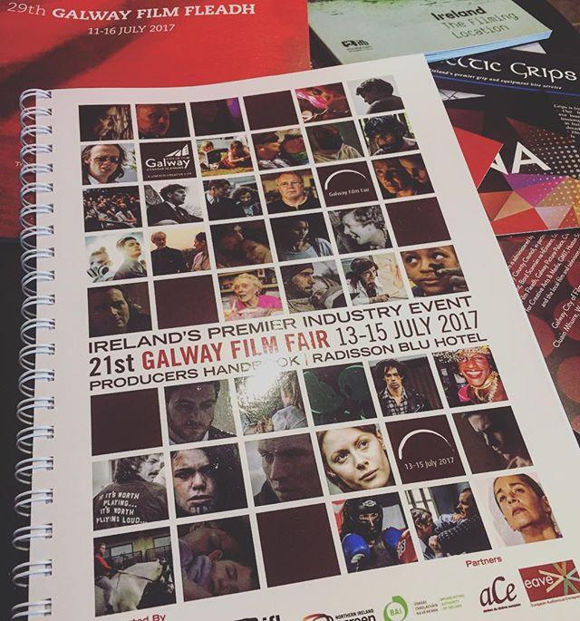 Producers Handbook🎞 😄✌🏼🎬 #galwayfilmfleadh #galway #ireland #filmmarket #galwayfilmfair #producer #featurefilm #WILLIAM #radissonblu #filmlife #filmmaker #womeninfilm #irishfilmboard